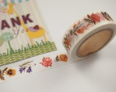 Flower Washi Tape (10M)