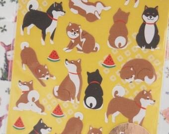 Lovely Puppy Dog Sticker (1 Sheet)