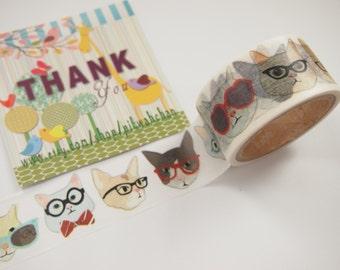Glassed Cat Aimez le style Washi Tape (28mm X 7M) 5519