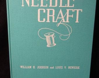 "Vintage 1942 Hobbycraft Series ""Needlcraft"" Webb Book Publishing Company"