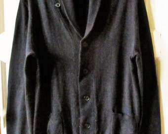 Men's Cotton Cashmere Cardigan Sweater, M, Gap