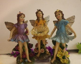 Fairy Friends in Dirty Dresses, Work Hard in their Fairy Garden