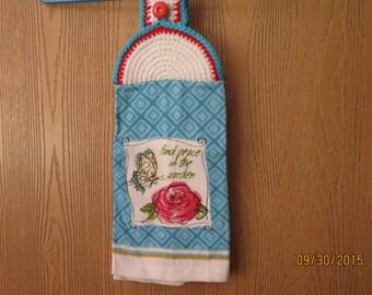 Rose Garden Kitchen Towel