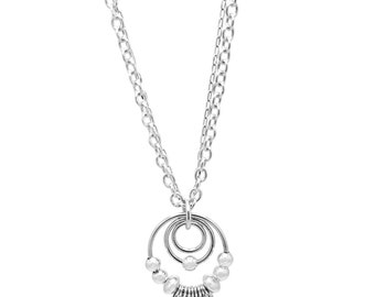 Eastern Promises Sterling Silver Necklace (long)