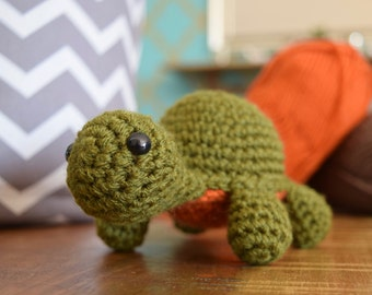 PATTERN: Turtle Tortoise Crochet Amigurumi