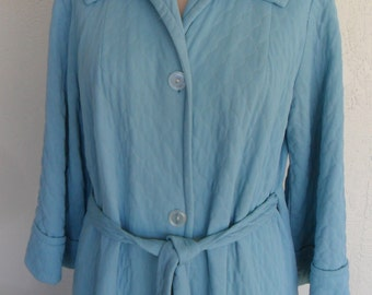 Quilted Robe B Cohen Original Vintage Dressing Gown House Coat