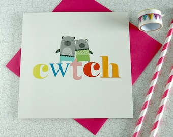 Cwtch Welsh Cards