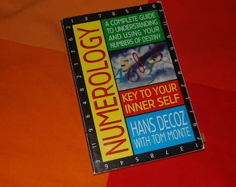 Numerology Key to Your Inner Self Hans Decoz with Tom Monte Vintage Paperback Book