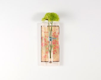 POPPIES Wall Vase - Wall Diffuser, Reed Diffuser, Hanging Vase, Bud Vase - art vase, boho, Field of Poppies, red poppy, aroma therapy