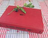 Vintage Communism History Book/The Naked Communist/author W.Cleon Skousen/Appeal of Communism/Red Book/1960s Red Scare/Collectible History