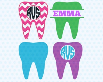 Dentist Tooth SVG, Teeth SVG, Dentist SVG Files, Svg Files, Silhouette, Cricut, Cut Files