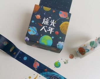 Space Washi Tape 2 Pack