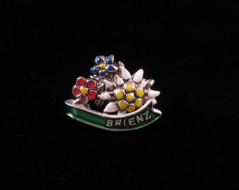 Brienz, Switzerland Pin-Vintage - Souvenir