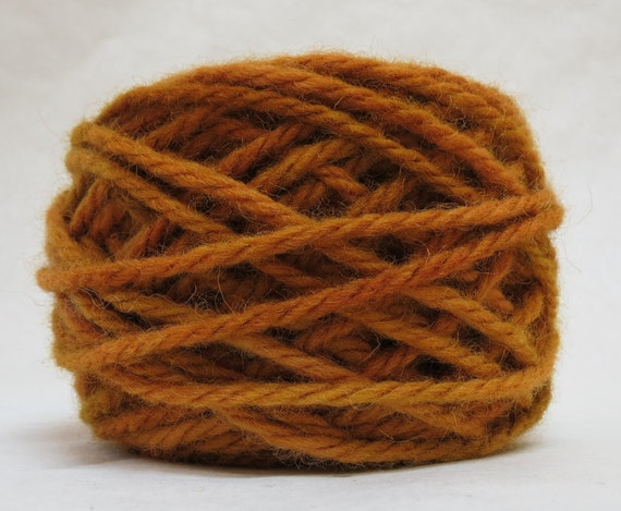 SYRUP, 100% Wool, 2 oz. 43 yards, 4-Ply, Bulky weight or 3-ply Worsted weight yarn, already wound into cakes, ready to use, made to order.