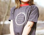 SALE-Montessori Kids-T-Shirt, Earth Goes Around the Sun