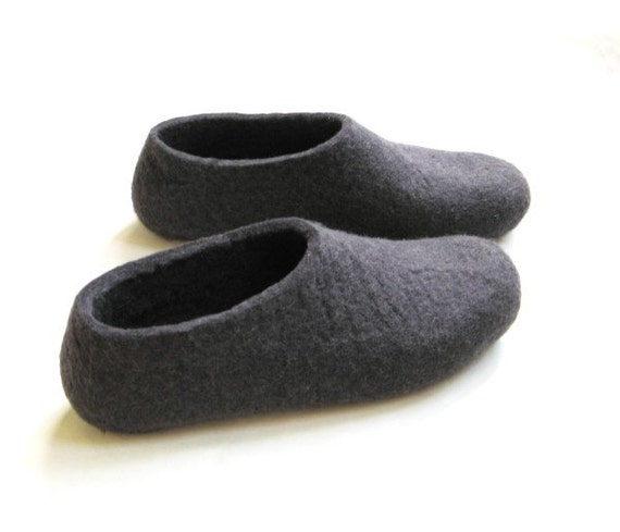 how to make wool slippers