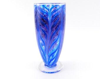 Purple Blown Glass Vase