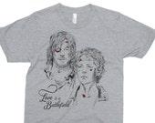 Love Is A Battlefield - The Walking Dead Shirt - Daryl And Carol Shirt - Walking Dead T-Shirt - Funny T-Shirt - Pop Culture T-Shirt - Zombie