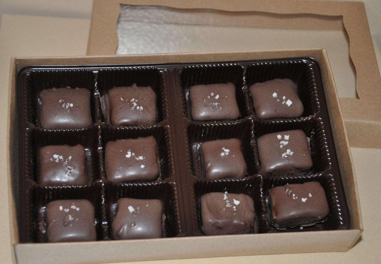 Caramel Chocolate Candy Vanilla Bean Salted Fleur de Sel