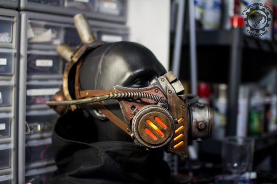 DIY Gas Mask Prop - do it yourself
