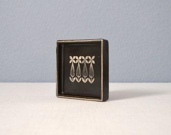 Vintage Sven Jonson Gustavsberg Facett Pin Tray