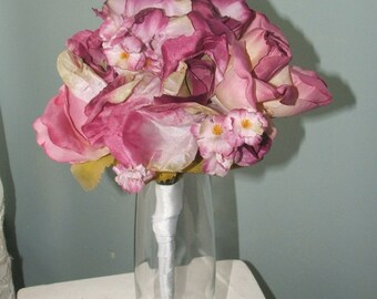 Small Dry Look Rose Bouquet