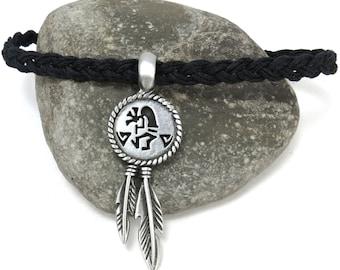 Native Style Necklace, Southwestern Jewelry, Kokopelli Necklace, Boho Jewelry