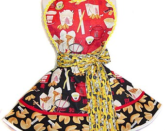 NYC Chinatown Retro Apron - Limited Edition, & Ready To Ship