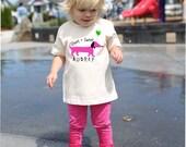 Puppy T Shirt for Kids, Dachshund T Shirt, White TShirt, Personalized Toddler T Shirt, Short & Sweet, Weiner Dog Shirt, Dog T Shirt