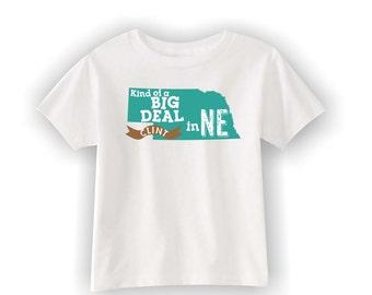 Nebraska Shirt, State T Shirt, Kids T Shirts, Toddler T Shirts, Toddler Tees, Personalized Nebraska T Shirt, Kids Custom Nebraska shirt