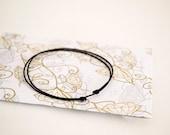 Black String Bracelet. Good Luck Bracelet. Kabbalah Thread String . Black Cord Couple Love Valentine. Unisex, Men, Women. Amulet Talisman