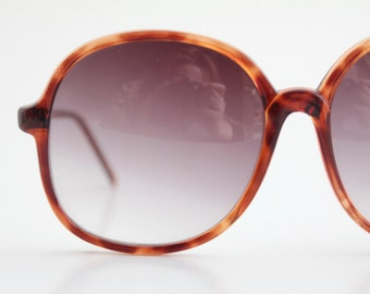 Vintage 80's Oversized Tortoise Sunglass Frames, Mark down, see details