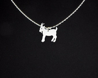 Goat Necklace - Goat Jewelry - Goat Gift