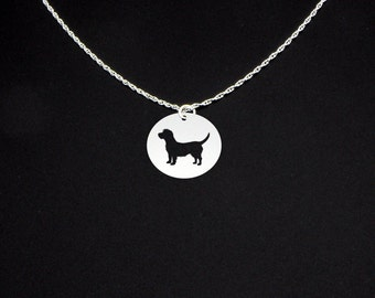 Glen of Imaal Terrier Necklace - Sterling Silver