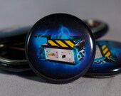 """Ghostbusters   Ghost Trap   Gigawatt Graphics Exclusive   1"""" Buttons"""
