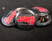 Jaws 19 (Black) | Back to the Future: Part 2 | 1-inch Button