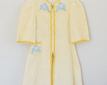 Chenille Robe Girls Vintage Clothes