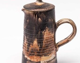 Vintage Danish Studio Pottery Coffee Pot - Birte Vedel Howard