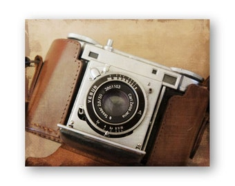 Vintage Canon Camera Photo Art, Vebur Camera still life decor, Camera Collector Decor, Spartus Camera photo, Brownie Hawkeye Print