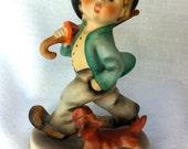 "Vintage Hummel:  ""Strolling Along""  Figurine, 1960-1972.  Mint Condition"