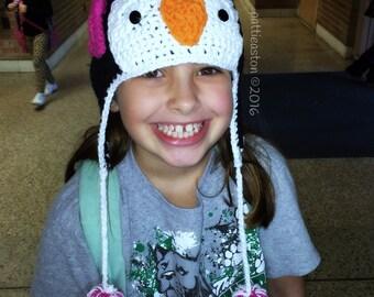 Pretty Penguin Hat