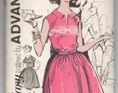 "1960's Sew Easy by Advance Shirtwaist One-Piece Dress pattern - UNCUT - Bust 36"" - No. 2831"