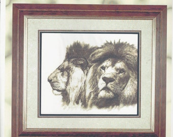 """Clearance- """"Royalty"""" Counted Cross Stitch by Cross My Heart"""