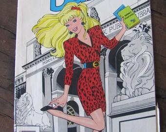 Vintage Marvel Barbie Comic Book