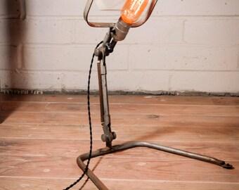 Reclaimed Fostoria Magnifying Lamp
