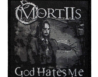 "Rock Metal ""MortIIs"" Band Merchandise Dark Ambient Music Sew On Applique Patch"