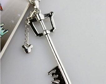 Ready to ship Sora keyblade necklace inspired by Kingdom hearts