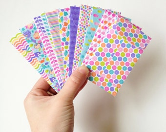 Set of 10 // Gift Card Holders // Mini Envelopes // Gift Card Envelopes // Gift Envelopes // Under The Sea Stationery // Mermaid Stationery