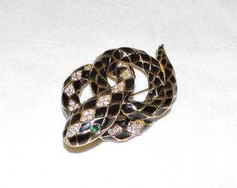 CINER Snake Brooch