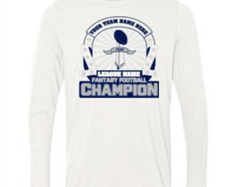 Fantasy Football Shirt Championship T Shirt Fantasy Football